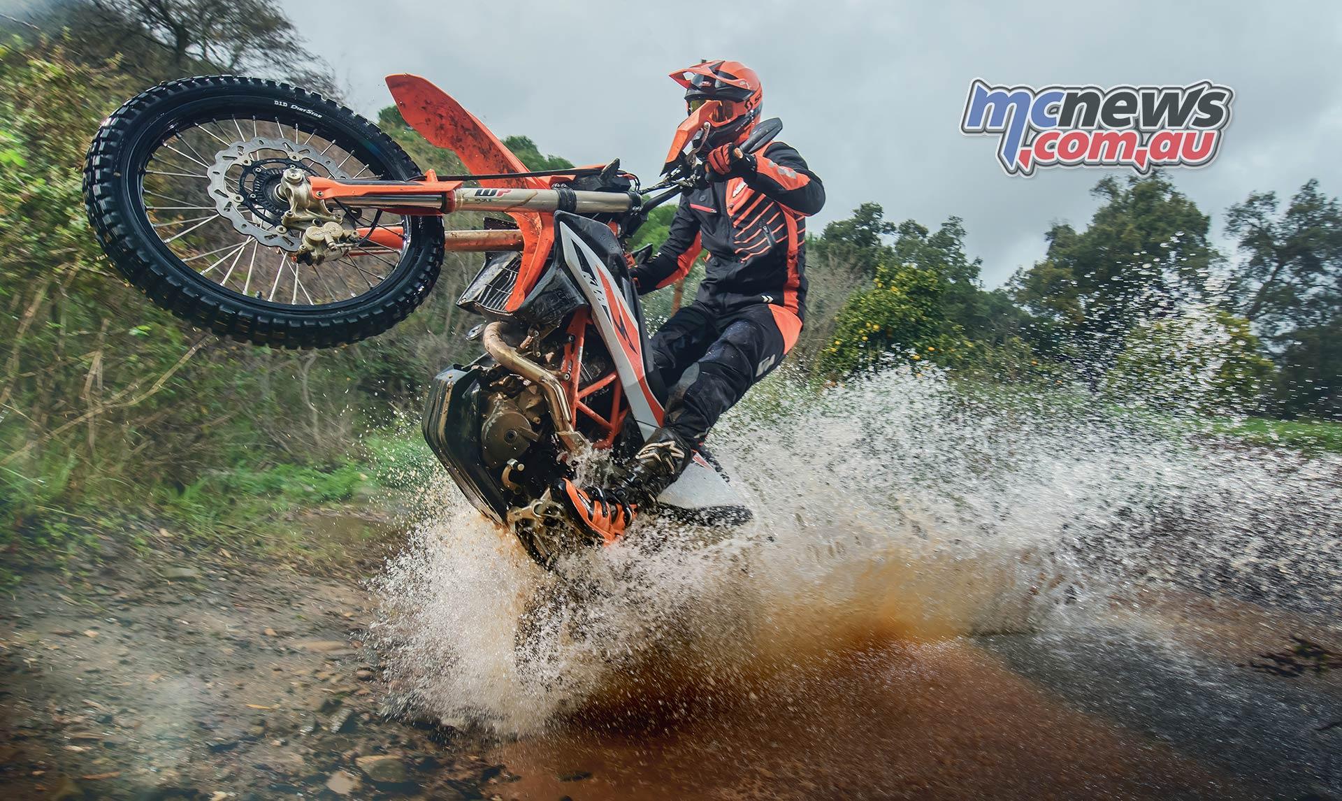 KTM Enduro R Portugal Action Spectacular