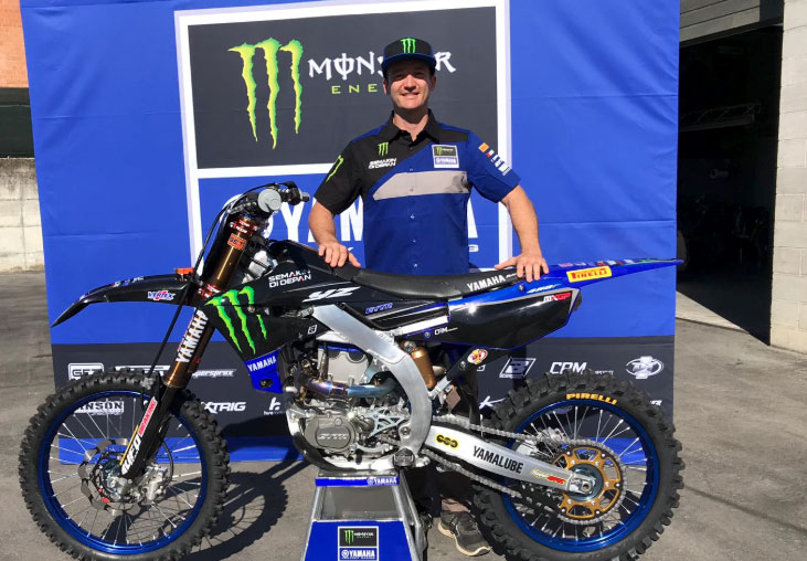 Monster Energy Yamaha Factory MXGP Dean Ferris