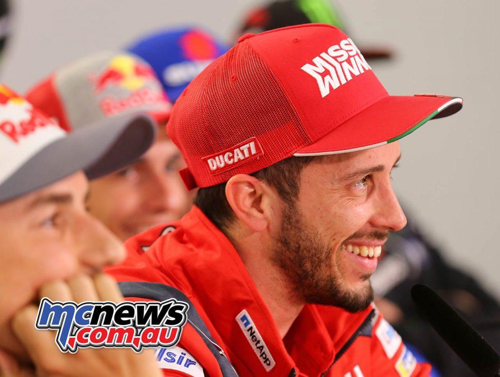 MotoGP Qatar PresserDovizioso