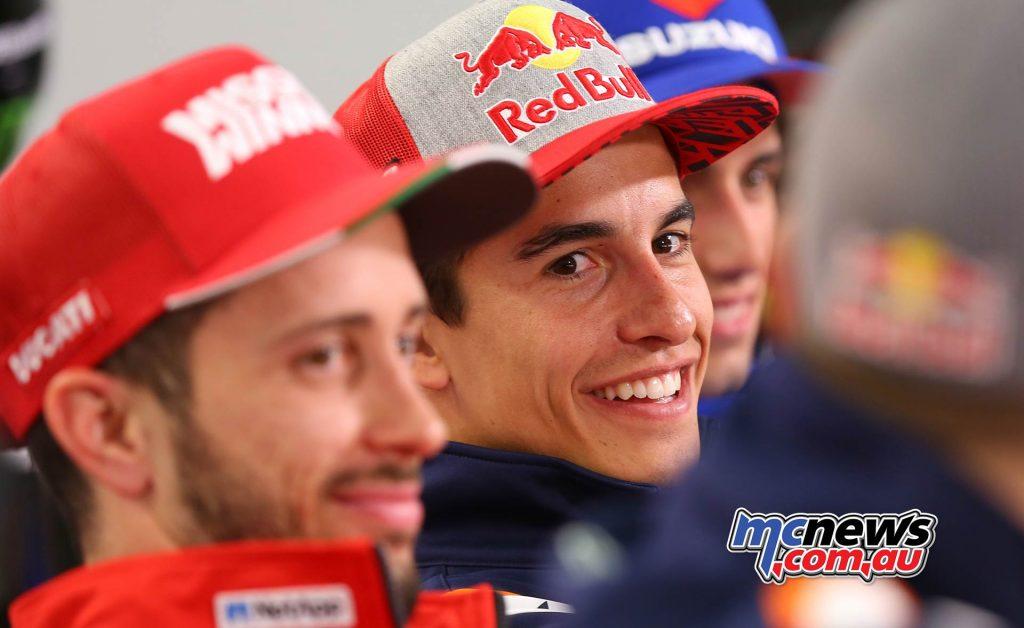 MotoGP Qatar PresserMarc Marquez