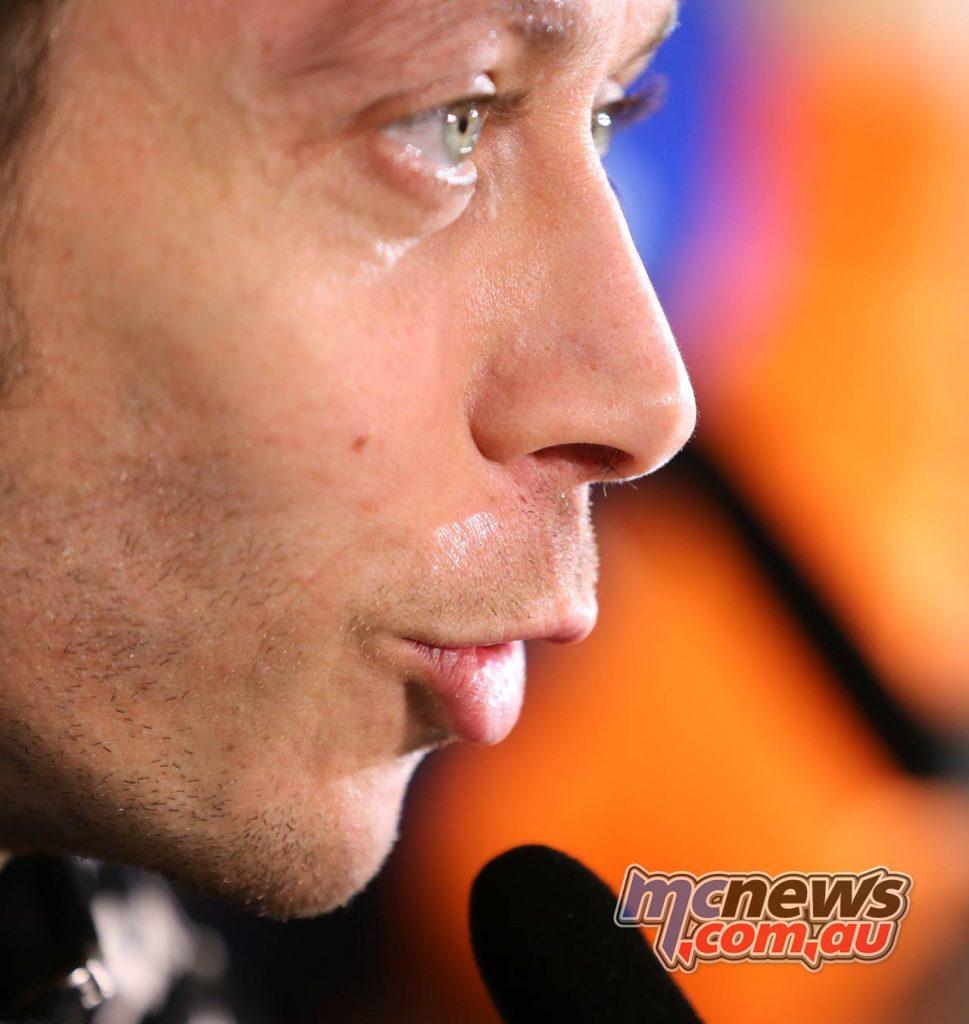 MotoGP Qatar PresserValentino Rossi