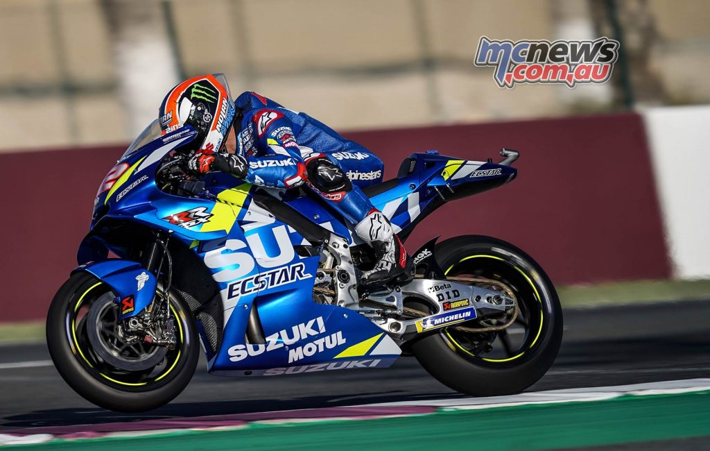 MotoGP Rnd Qatar Friday Alex Rins
