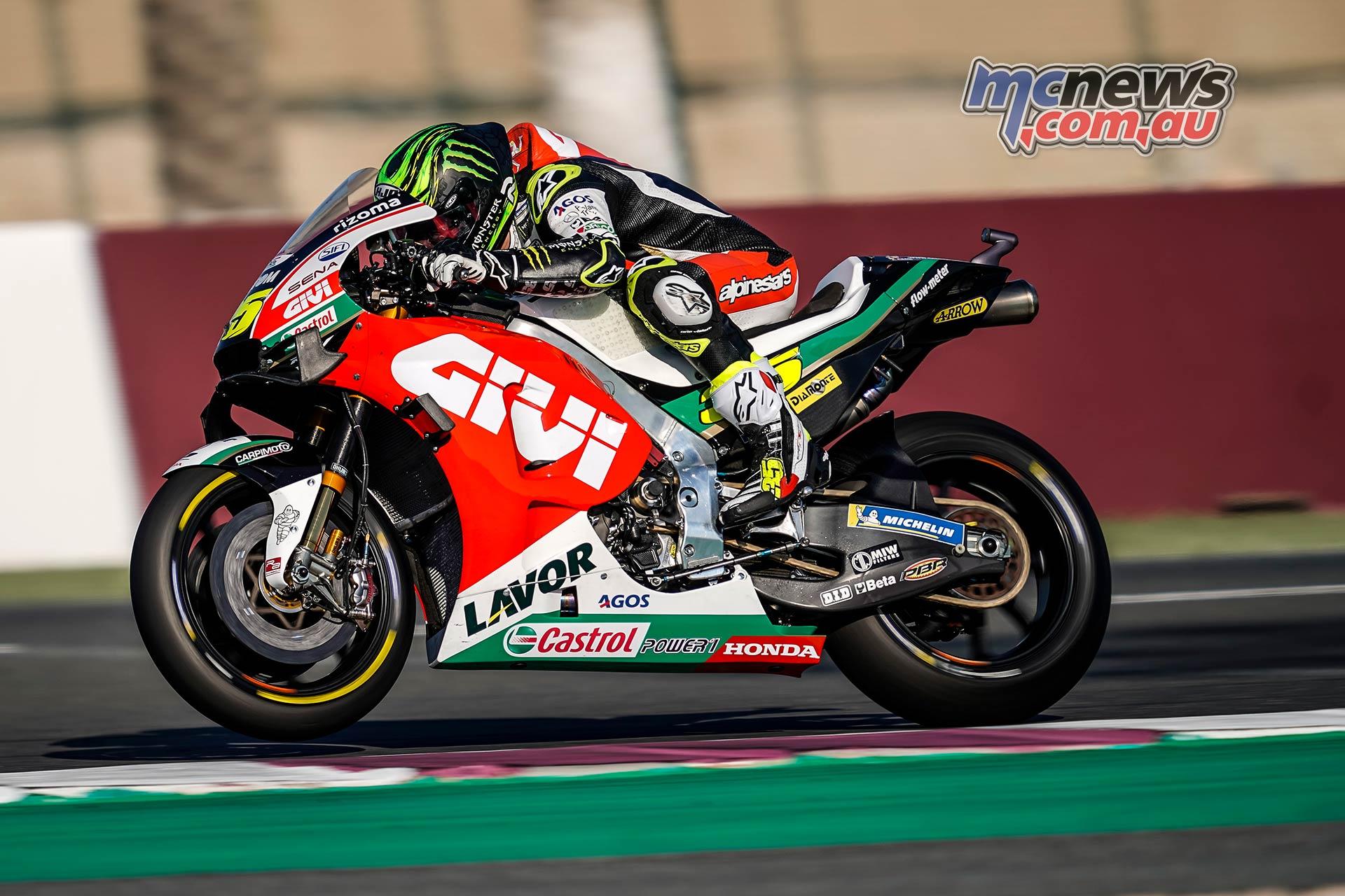 MotoGP Rnd Qatar Friday Cal Crutchlow