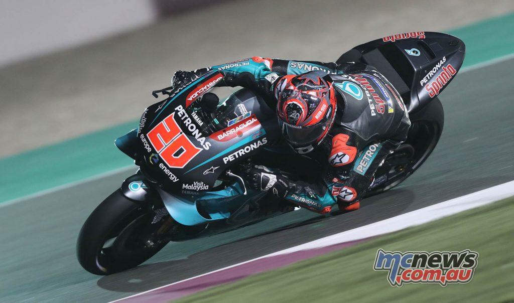MotoGP Rnd Qatar Friday Fabio Quartararo