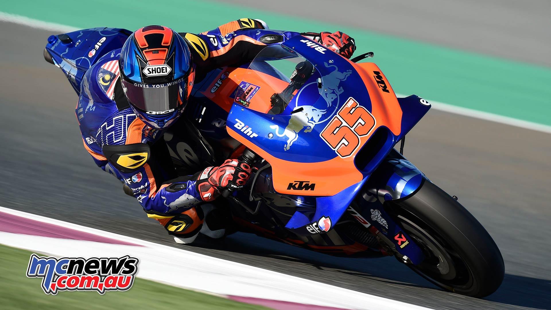 MotoGP Rnd Qatar Friday Hafizh Syahrin