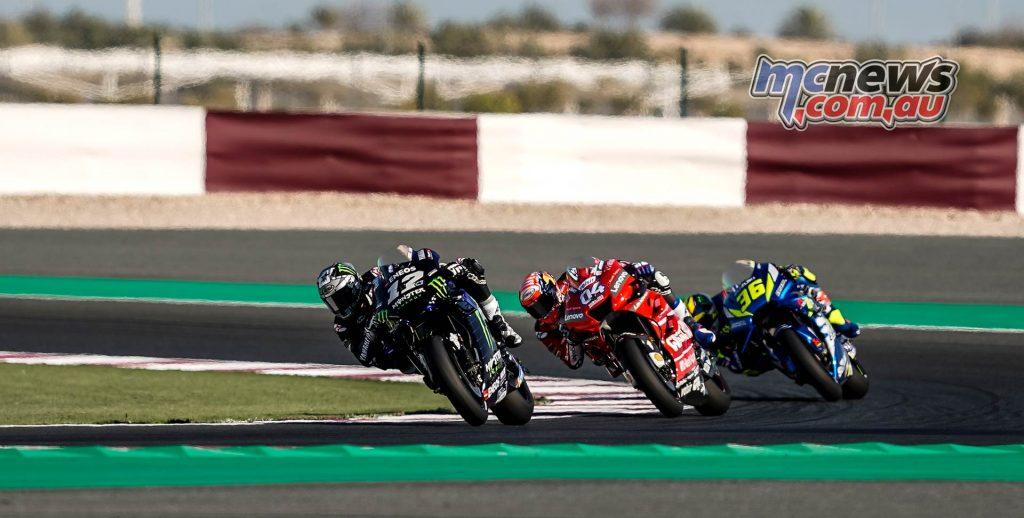 MotoGP Rnd Qatar Friday Maverick Vinales