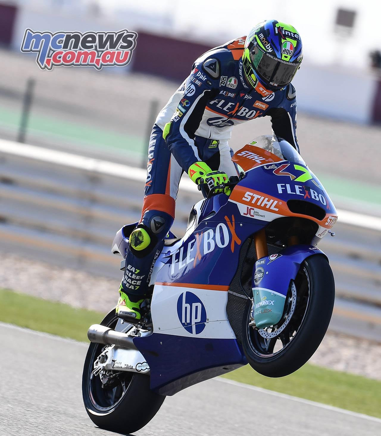 MotoGP Rnd Qatar Friday Moto Lorenzo Baldassarri