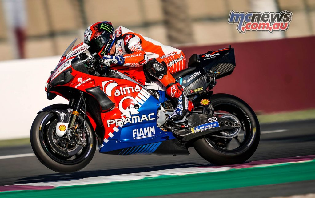 MotoGP Rnd Qatar Friday Pecco Bagnaia