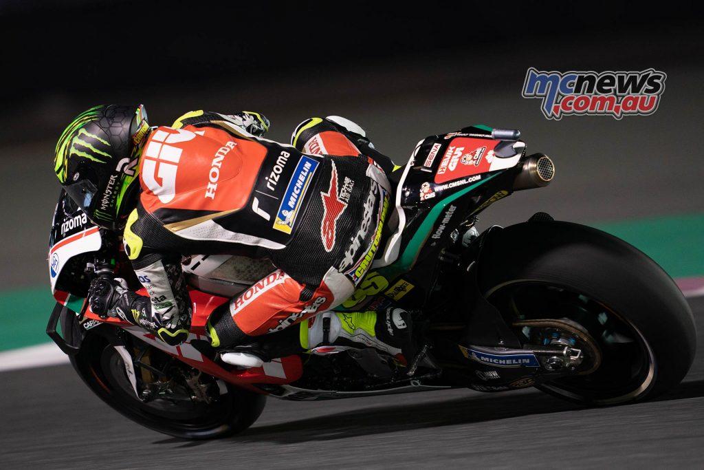MotoGP Rnd Qatar Qualifying Crutchlow