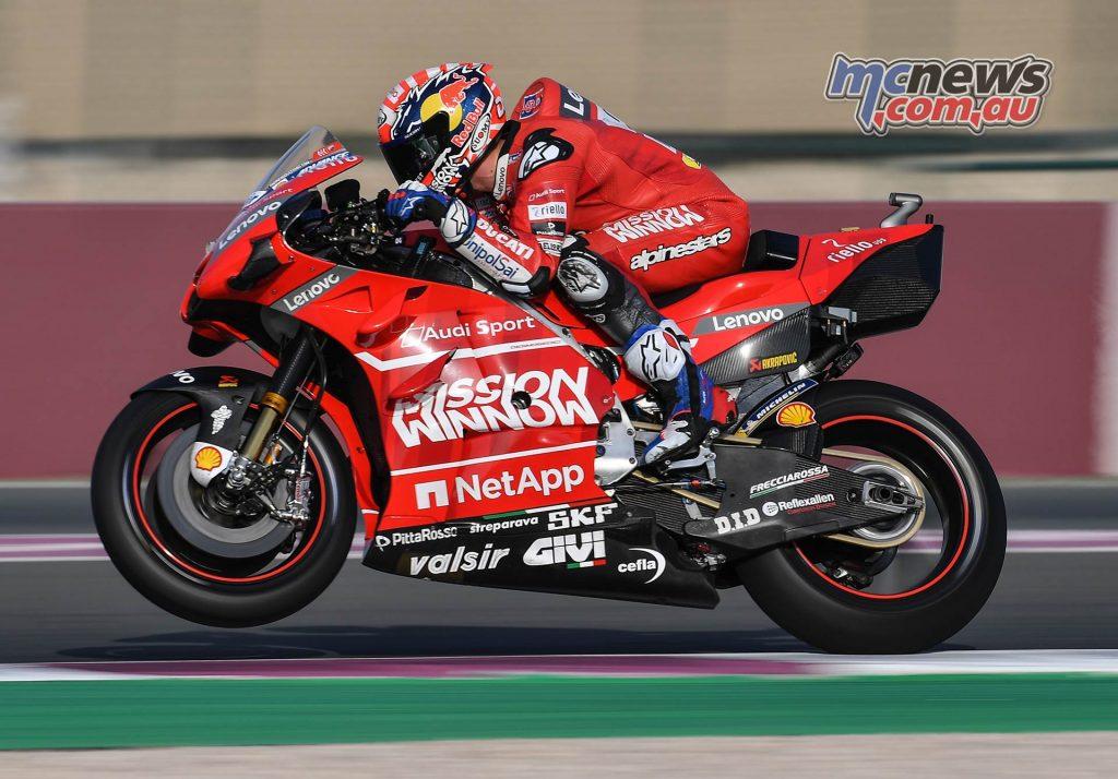 MotoGP Rnd Qatar Qualifying Dovizioso