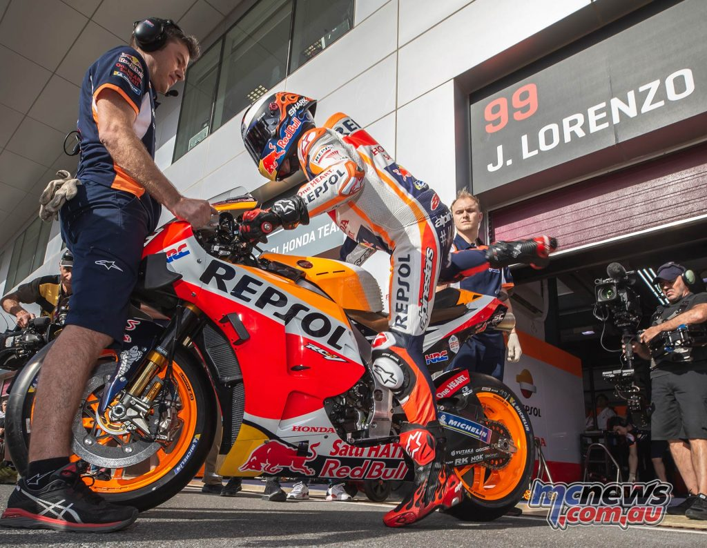 MotoGP Rnd Qatar Qualifying Jorge Lorenzo