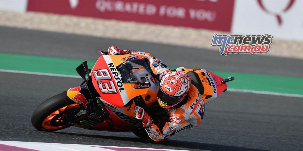 MotoGP Rnd Qatar Qualifying Marquez