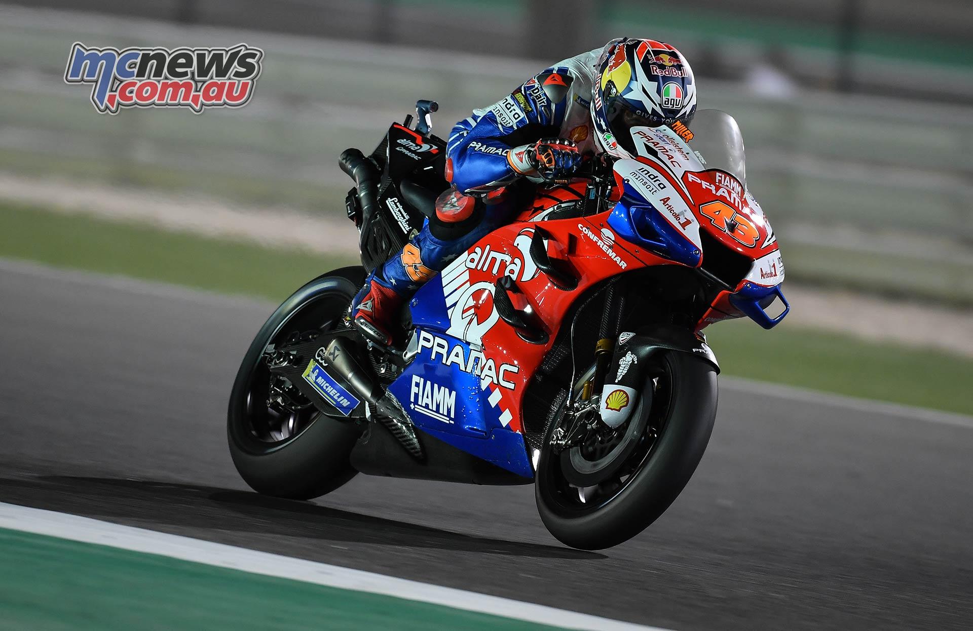 MotoGP Rnd Qatar Qualifying Miller