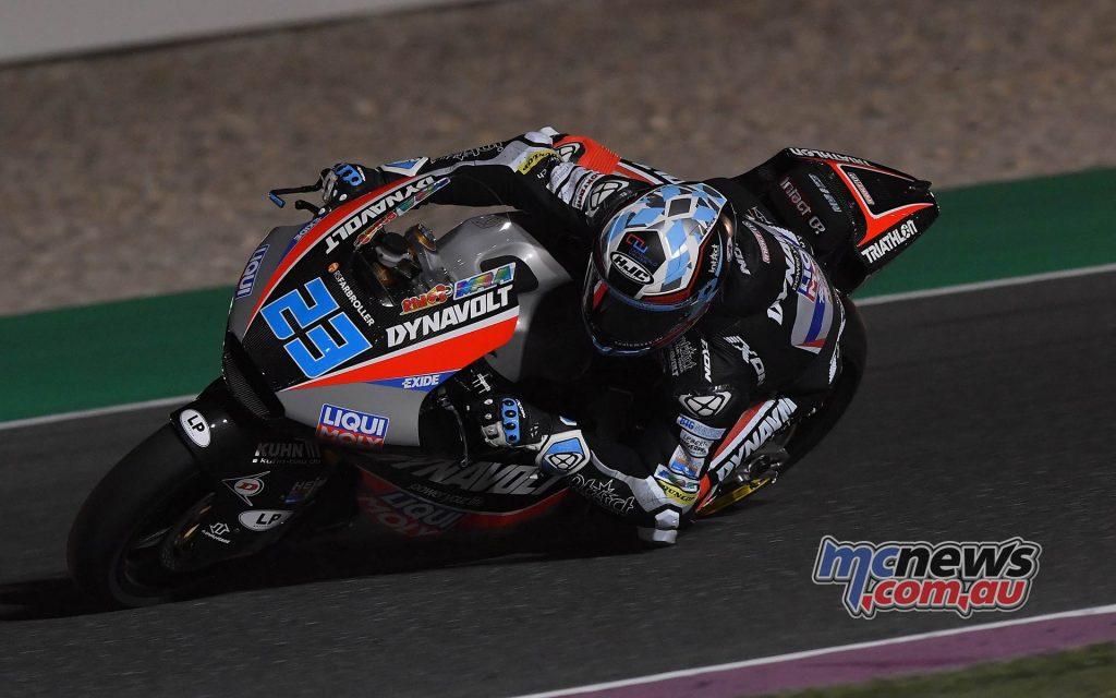 MotoGP Rnd Qatar Qualifying Moto Marcel Schrötter
