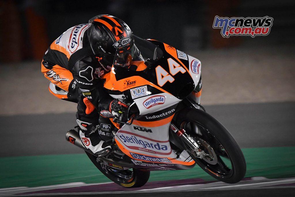 MotoGP Rnd Qatar Qualifying Moto Aron Canet