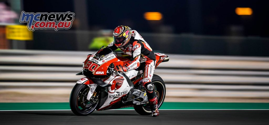 MotoGP Rnd Qatar Qualifying Nakagami