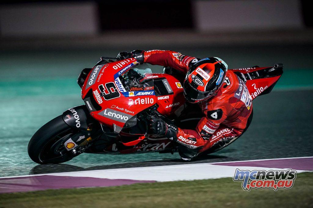 MotoGP Rnd Qatar Qualifying Petrucci