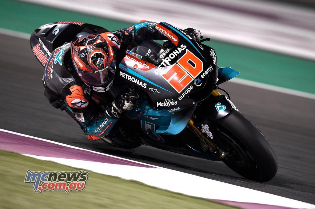 MotoGP Rnd Qatar Qualifying Quartararo