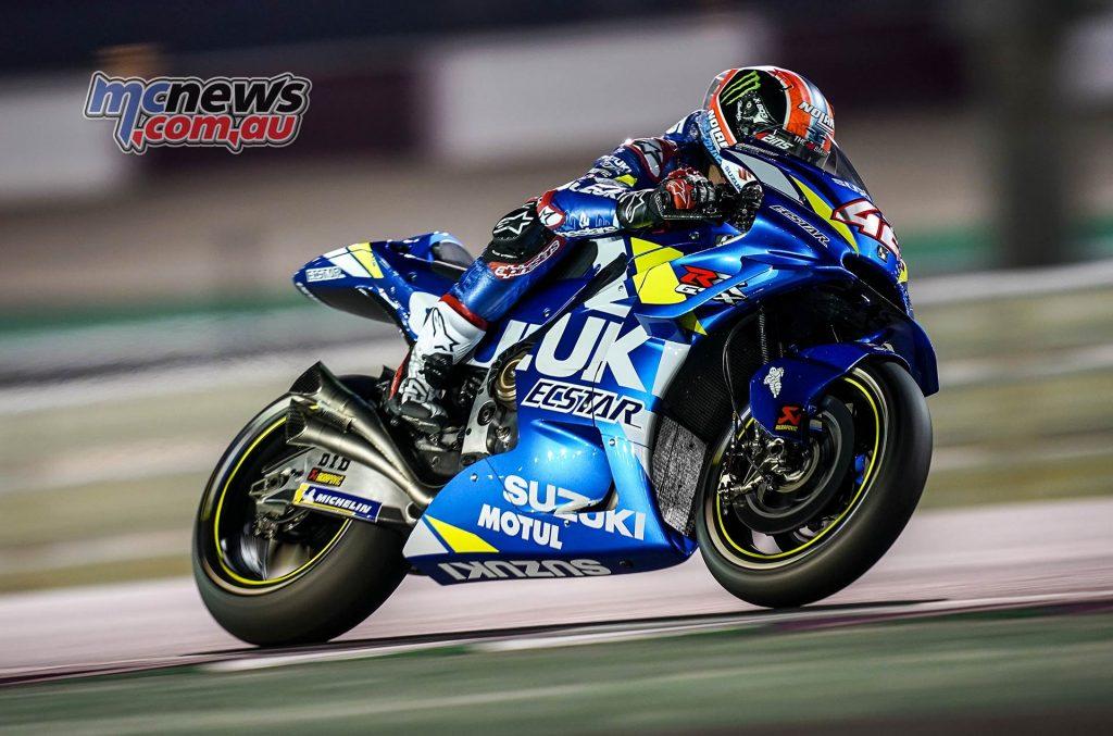 MotoGP Rnd Qatar Qualifying Rins