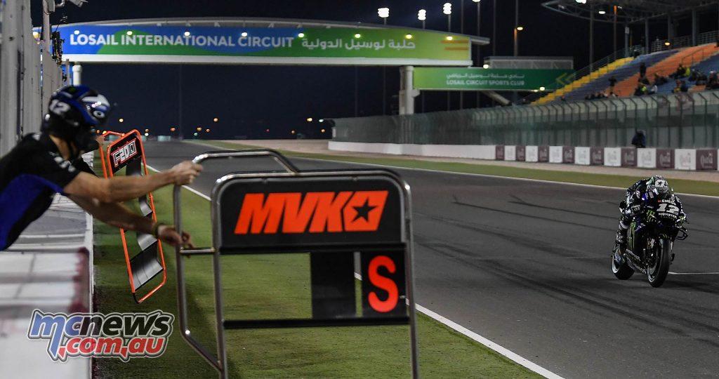 MotoGP Rnd Qatar Qualifying Vinales