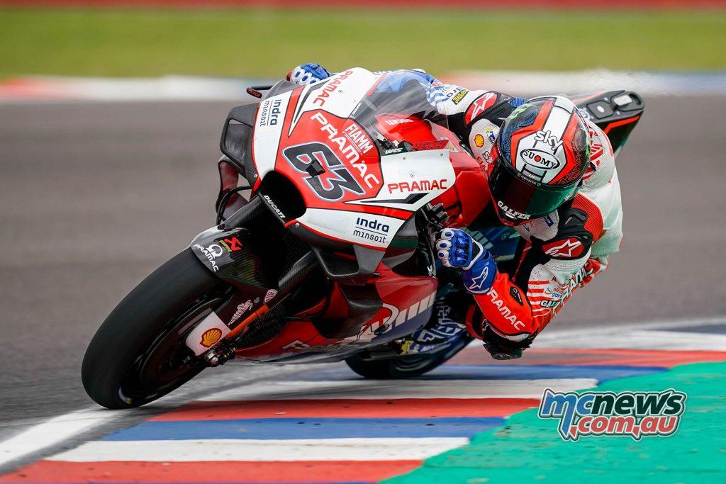 MotoGP Rnd Argentina Friday Bagnaia