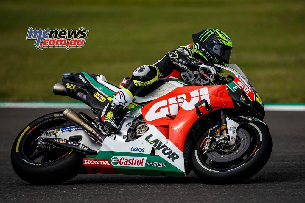 MotoGP Rnd Argentina Friday Crutchlow