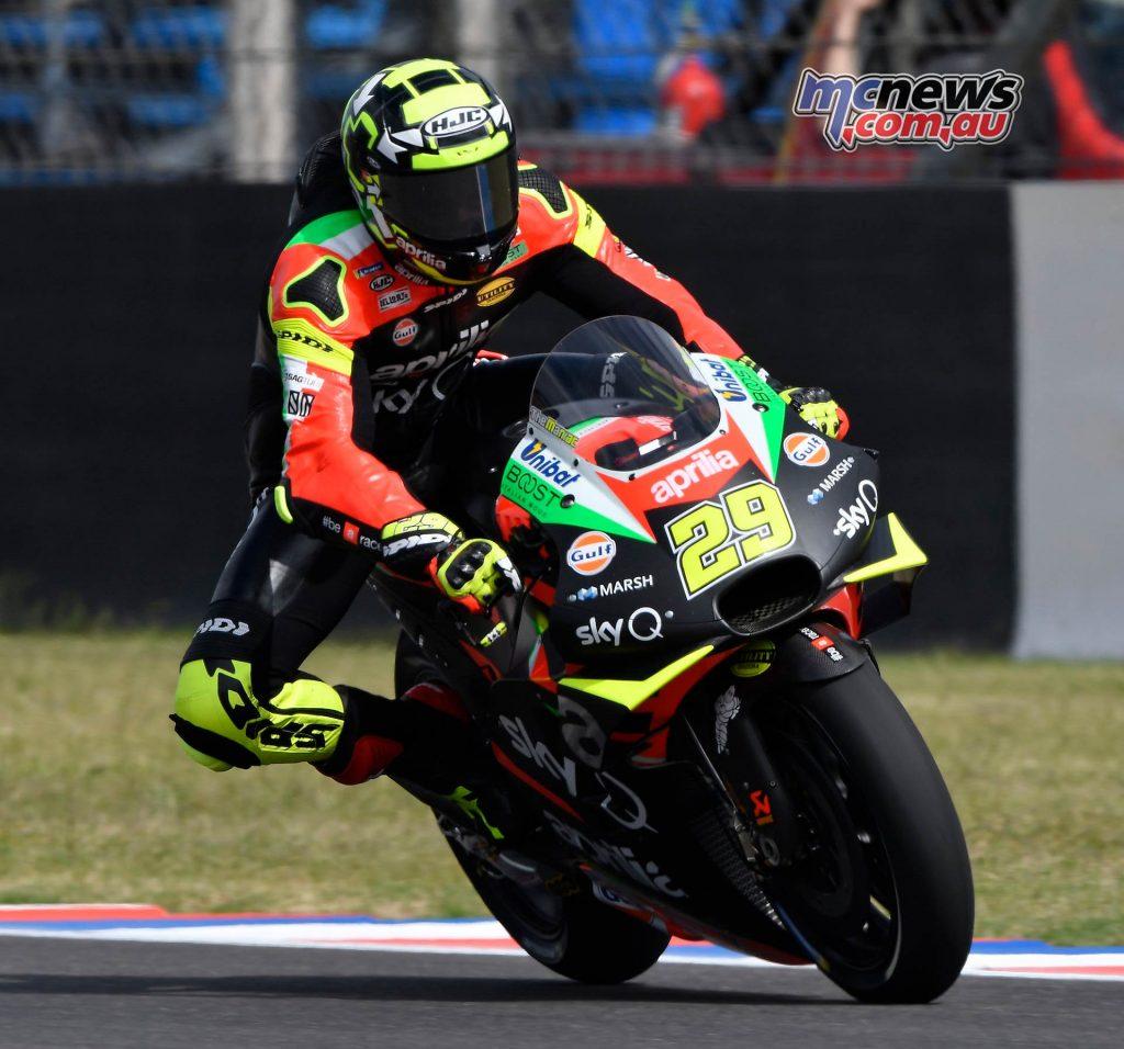 MotoGP Rnd Argentina Friday Iannone