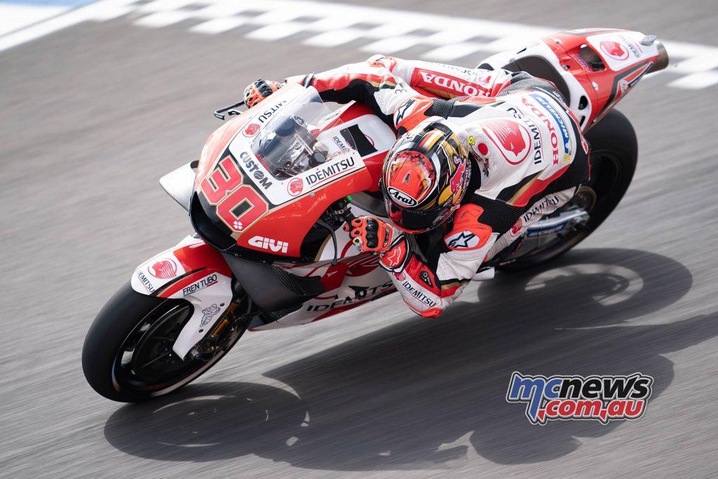 MotoGP Rnd Argentina Friday Nakagami