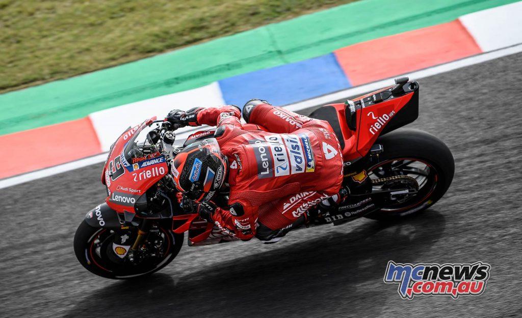 MotoGP Rnd Argentina Friday Petrucci
