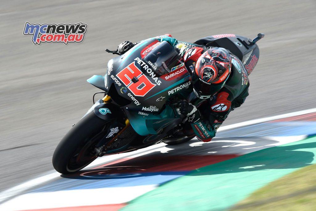 MotoGP Rnd Argentina Friday Quartararo