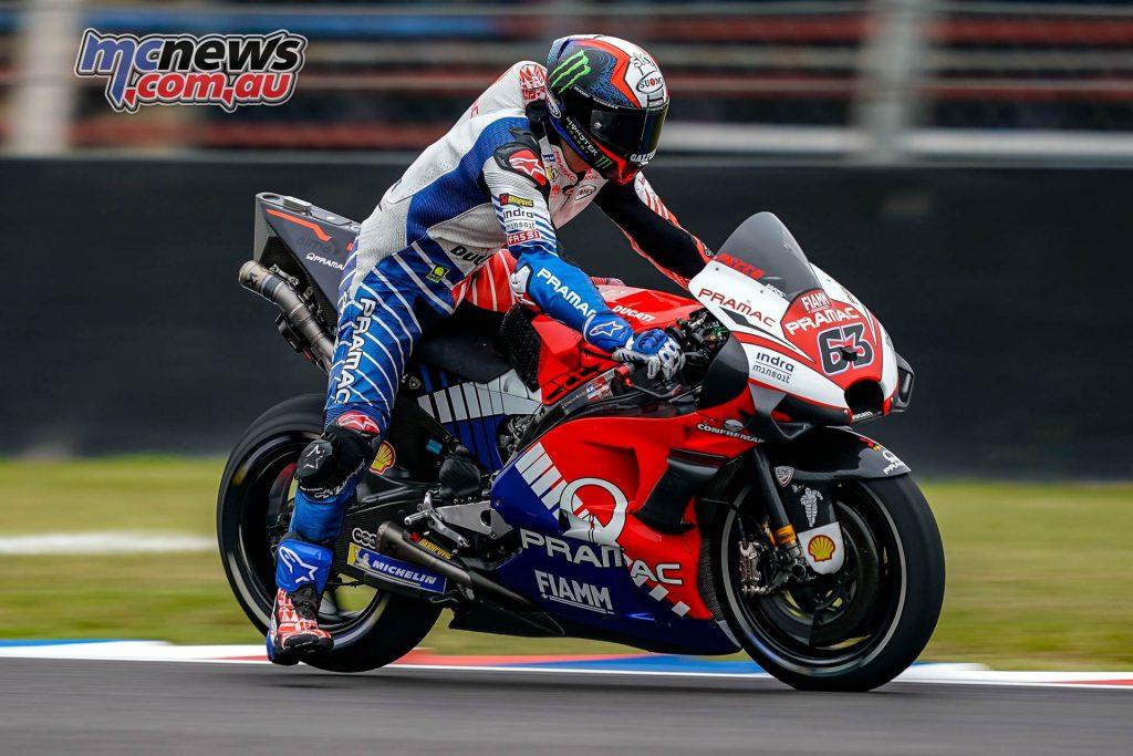 MotoGP Rnd Argentina QP Bagnaia