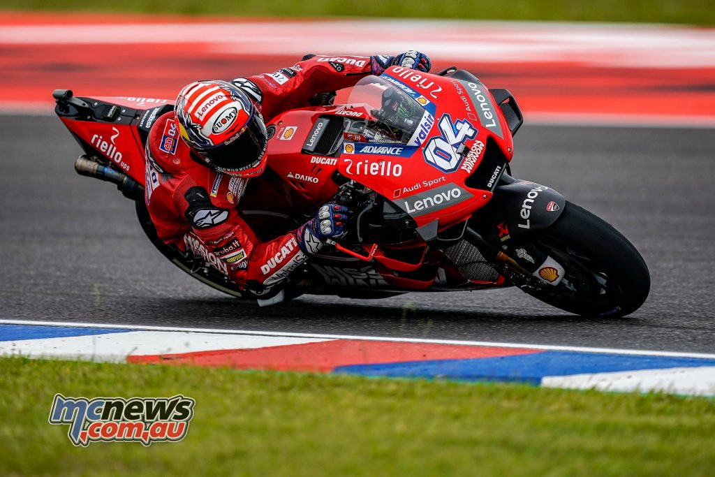 MotoGP Rnd Argentina QP Dovizioso
