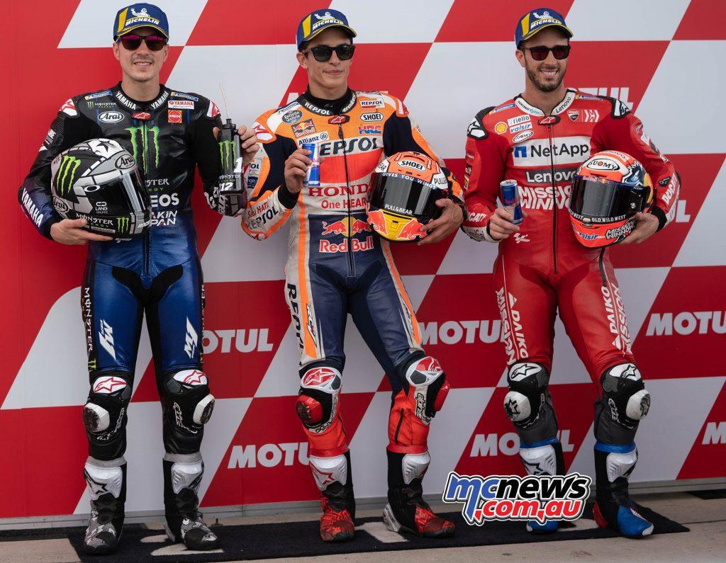MotoGP Rnd Argentina QP MotoGP Front Row