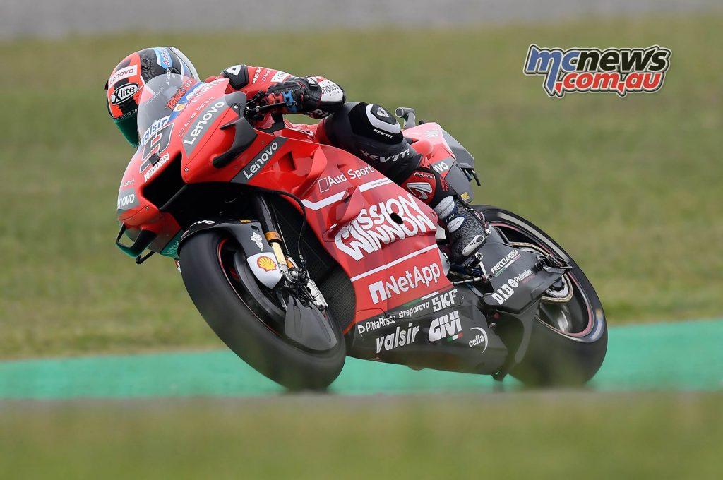 MotoGP Rnd Argentina QP Petrucci