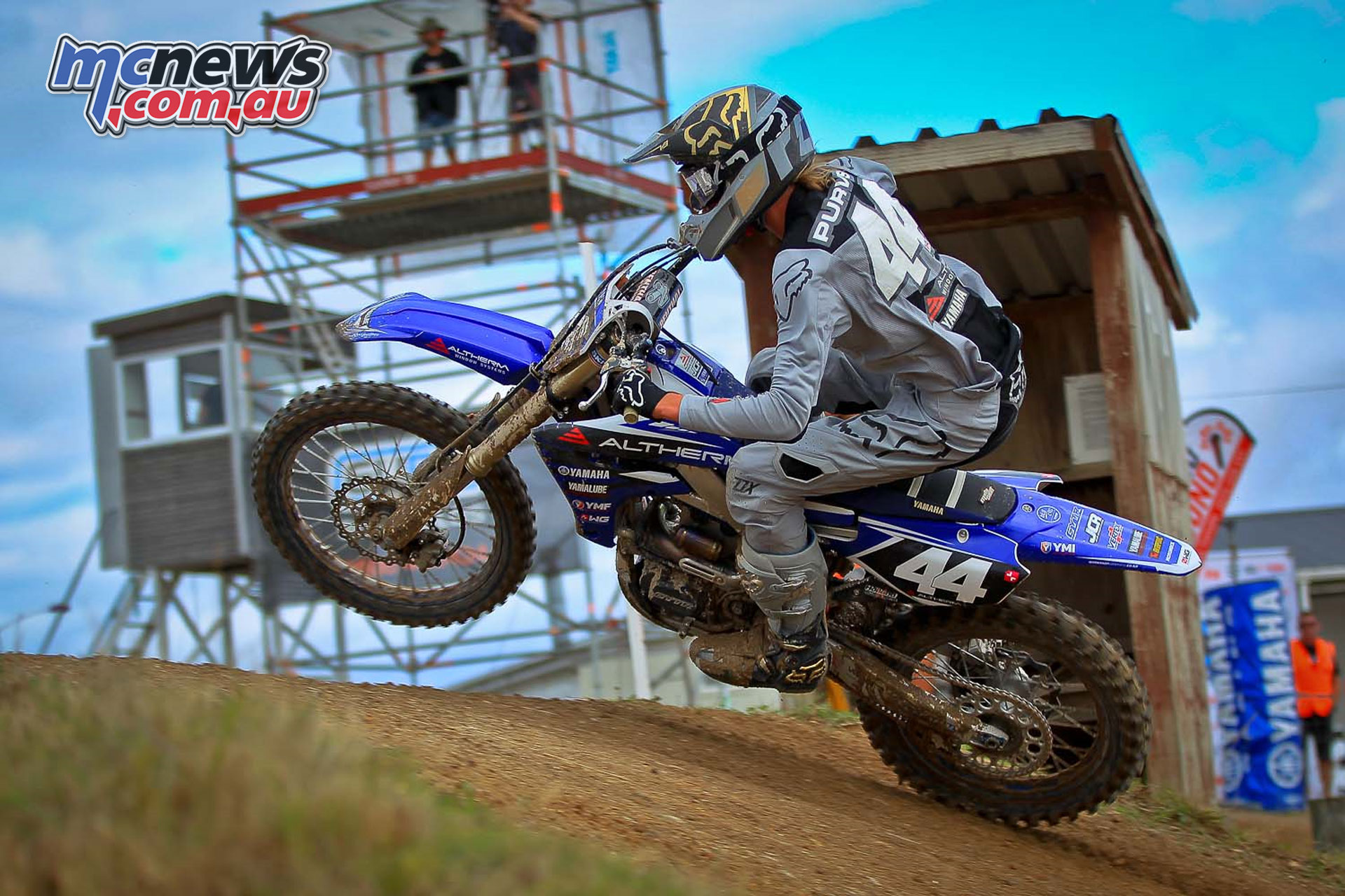 NZ MX Champs Maximus Purvis final round MX Champs Taupo