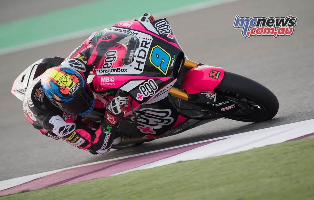 Qatar Test Moto Navarro
