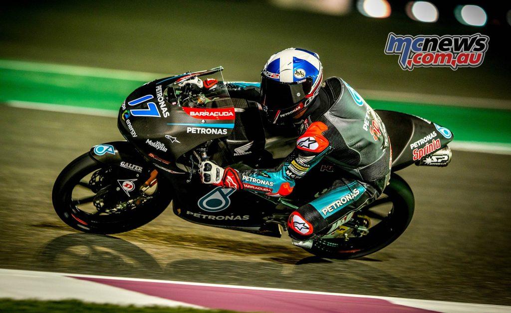 Qatar Test Moto McPhee