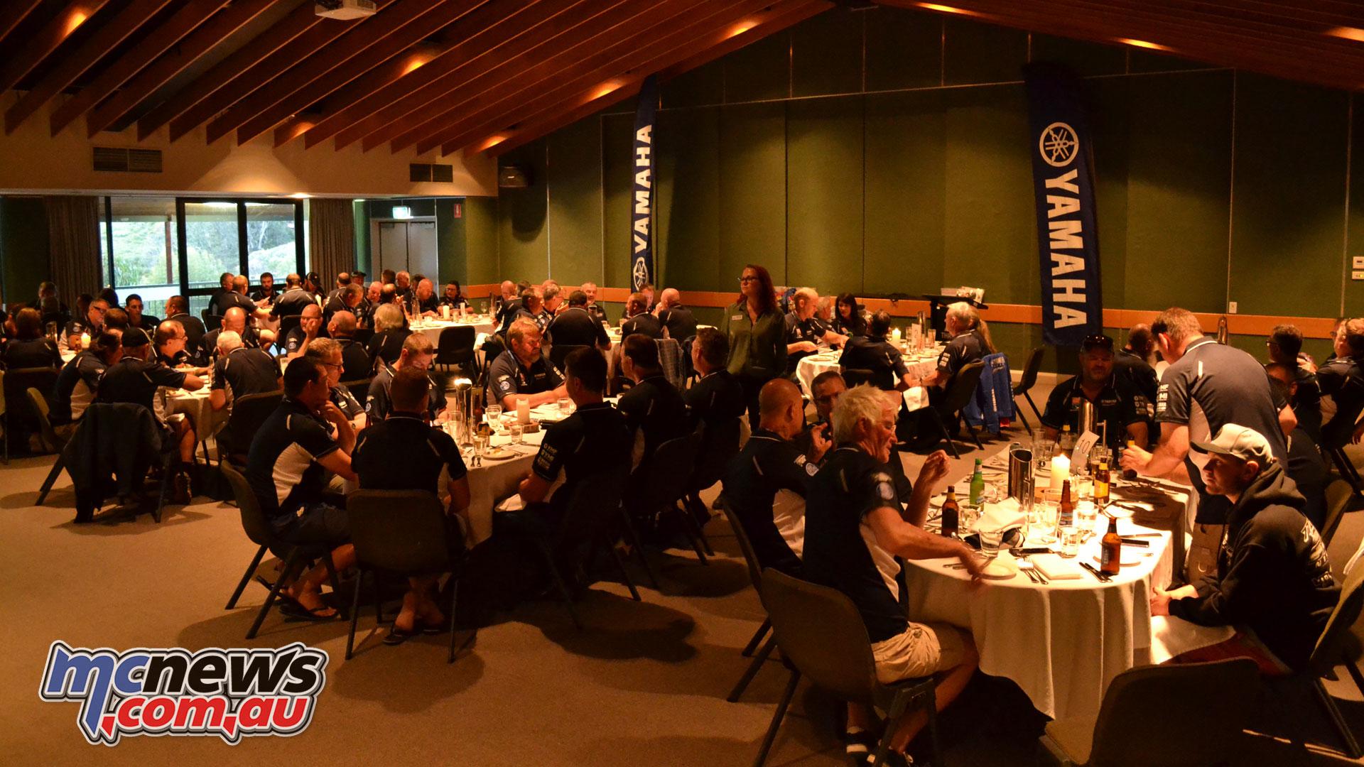 Tenere Tragics day Thredbo Farewell Awards dinner
