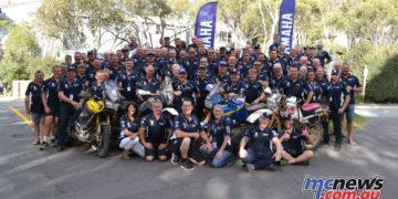 Tenere Tragics day Thredbo finish group