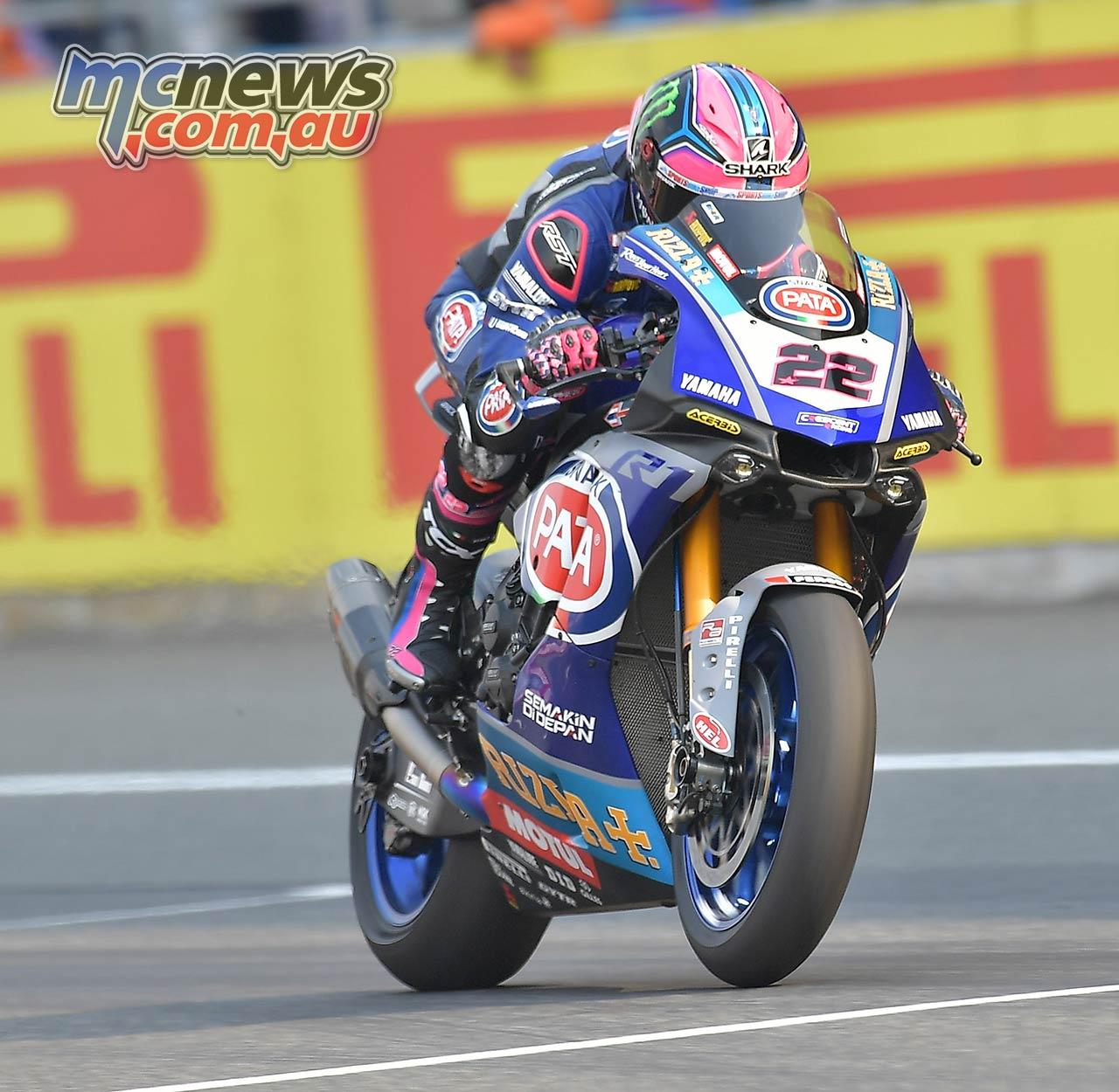 WSBK Rnd Thailand R Lowes