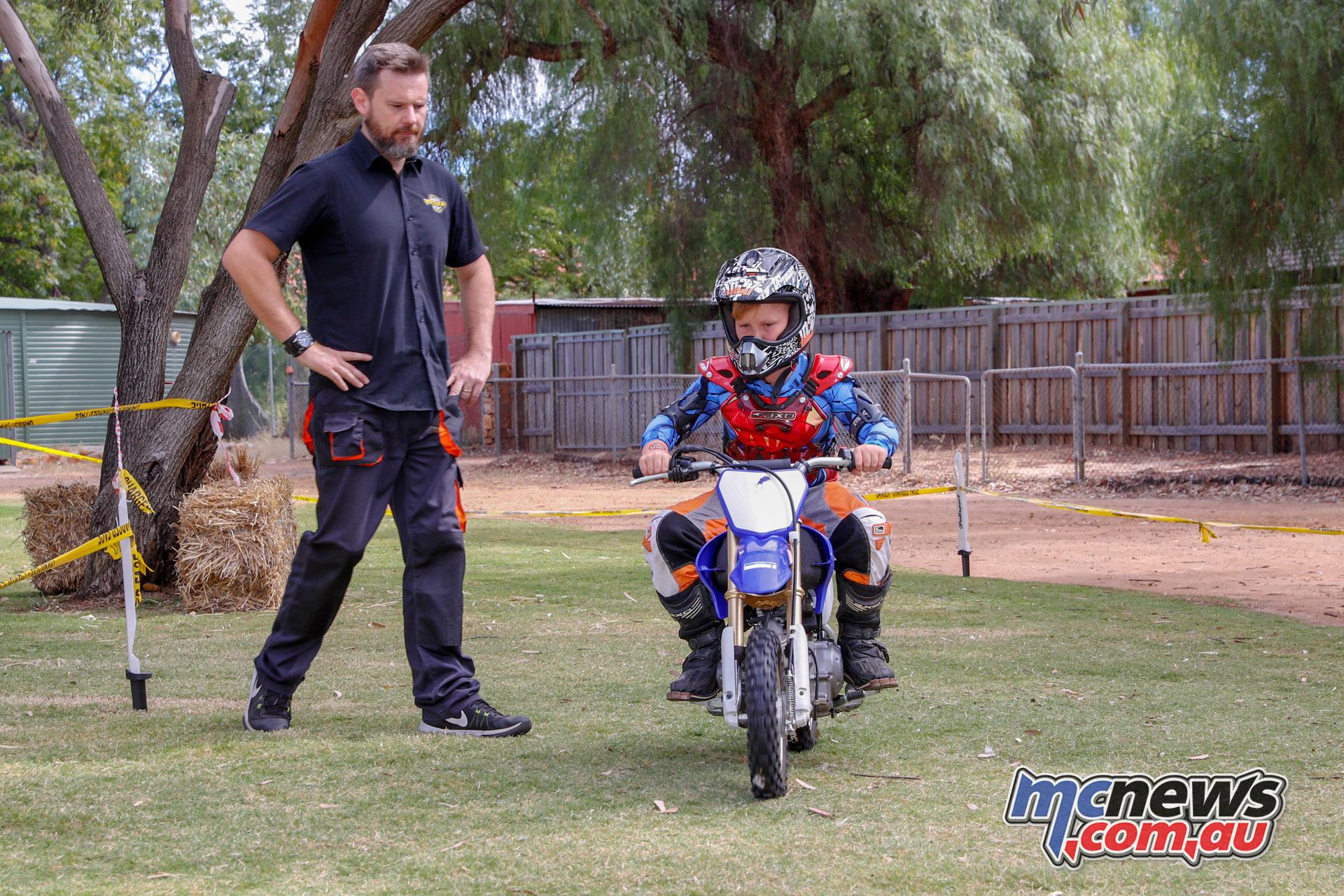 York Motorcycle Festival Kids Motorbike Rides