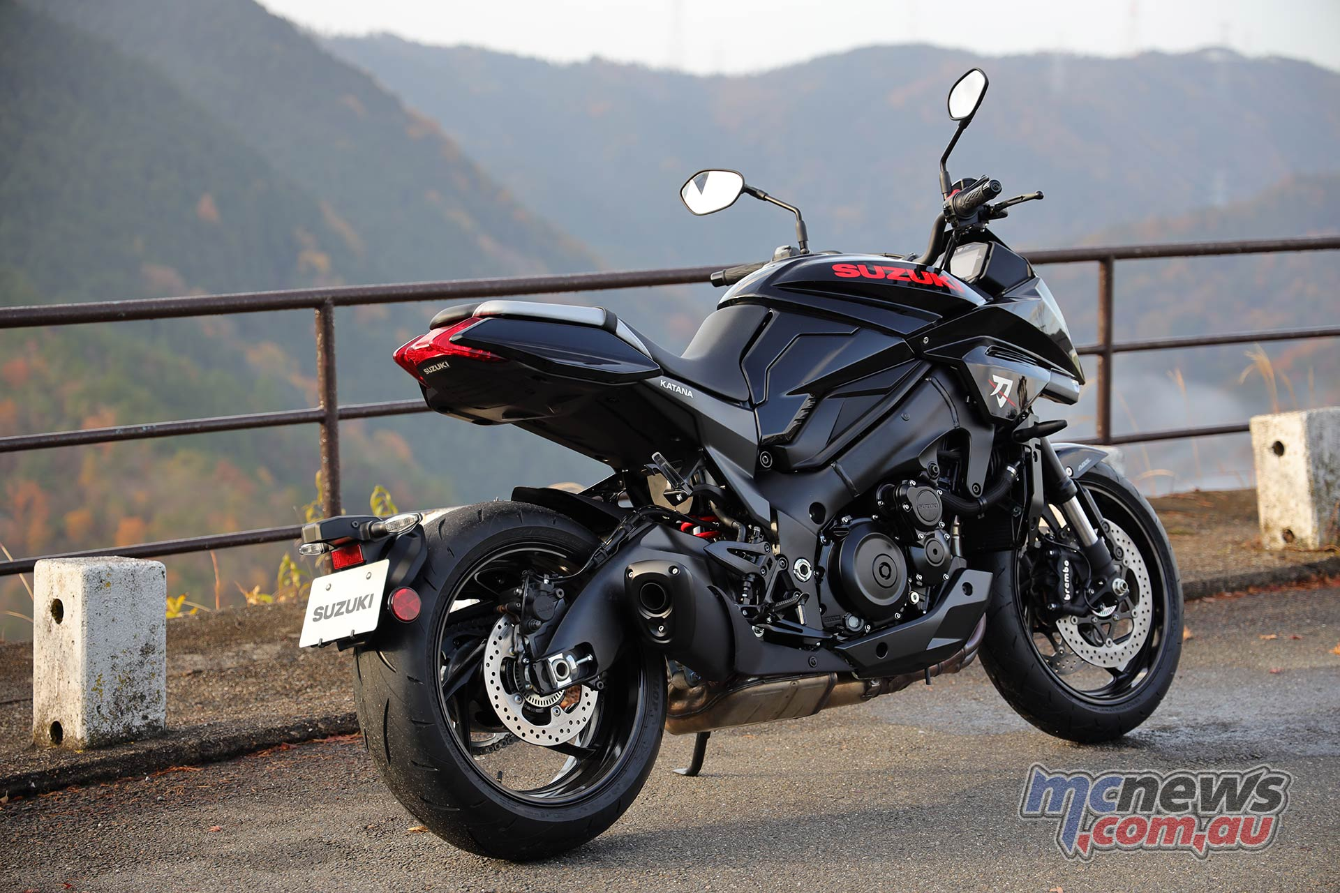Suzuki Katana Black RHR