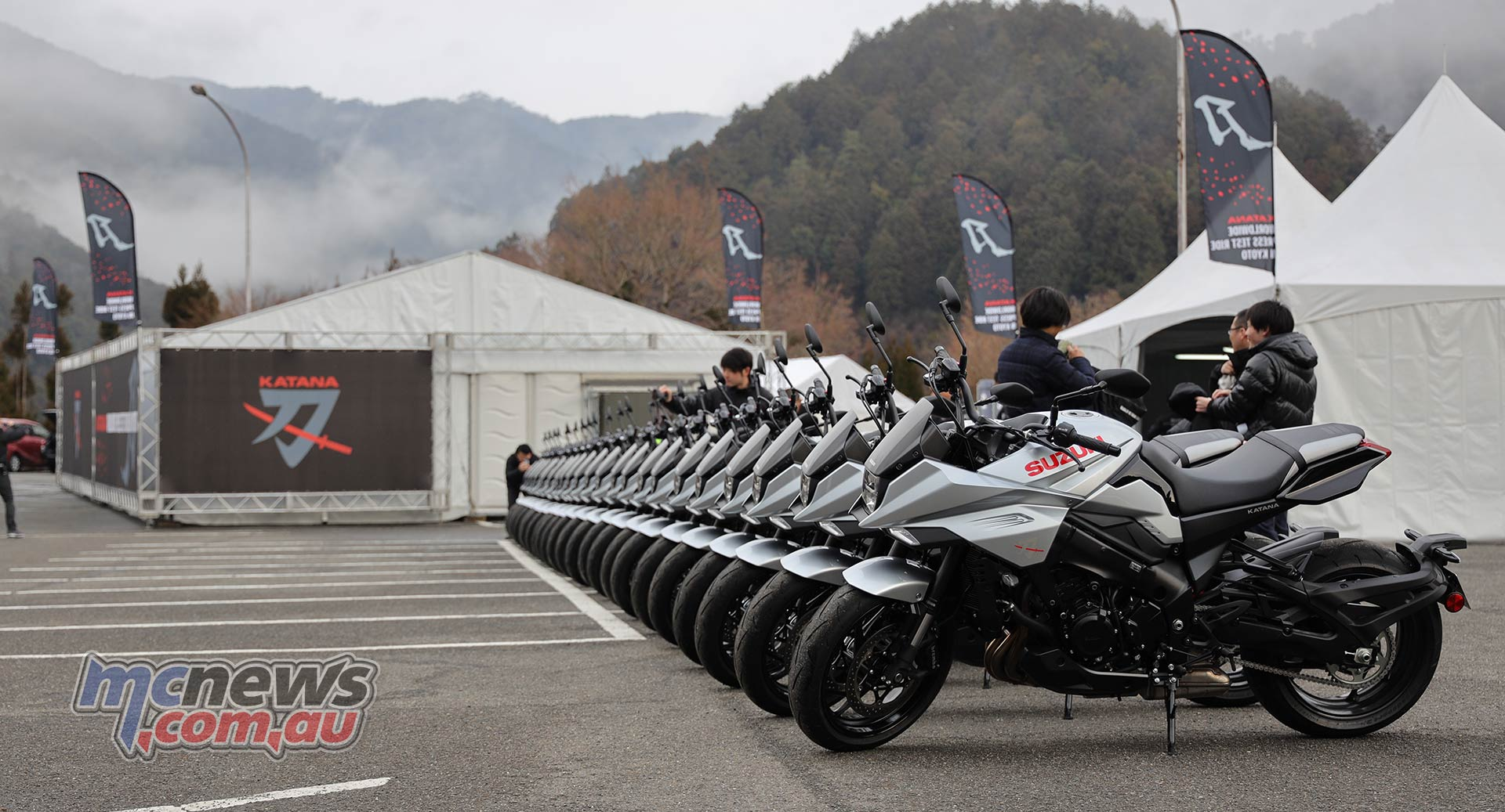Suzuki Katana LineUp