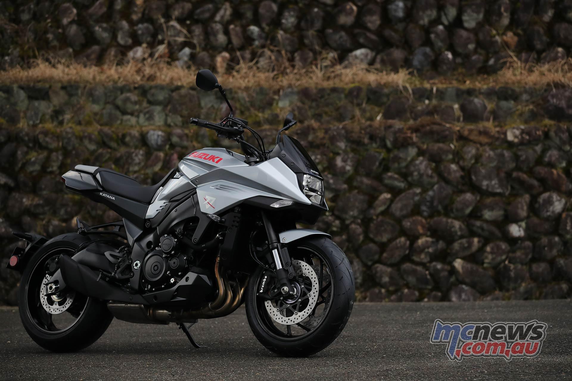 Suzuki Katana Silver RHF