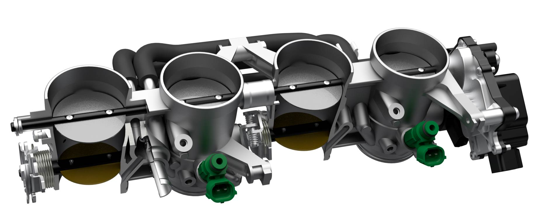 Suzuki Katana Throttle Bodies