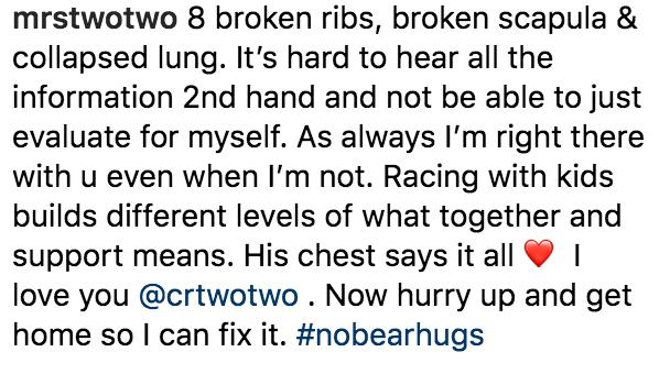 Ellie Reed on Instagram Seattle Crash