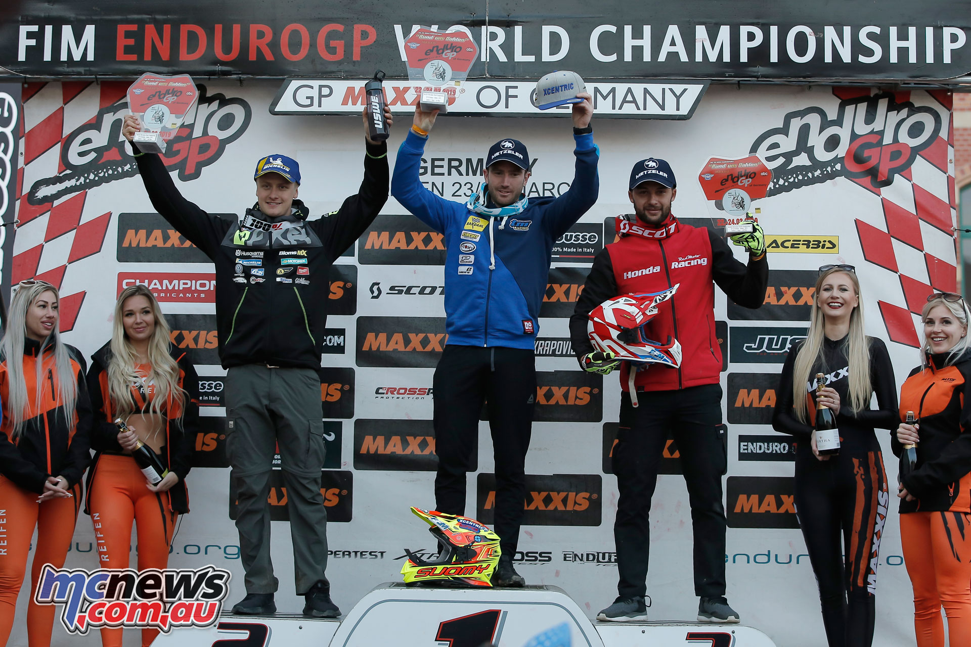 EnduroGP Rnd Germany E Day podium