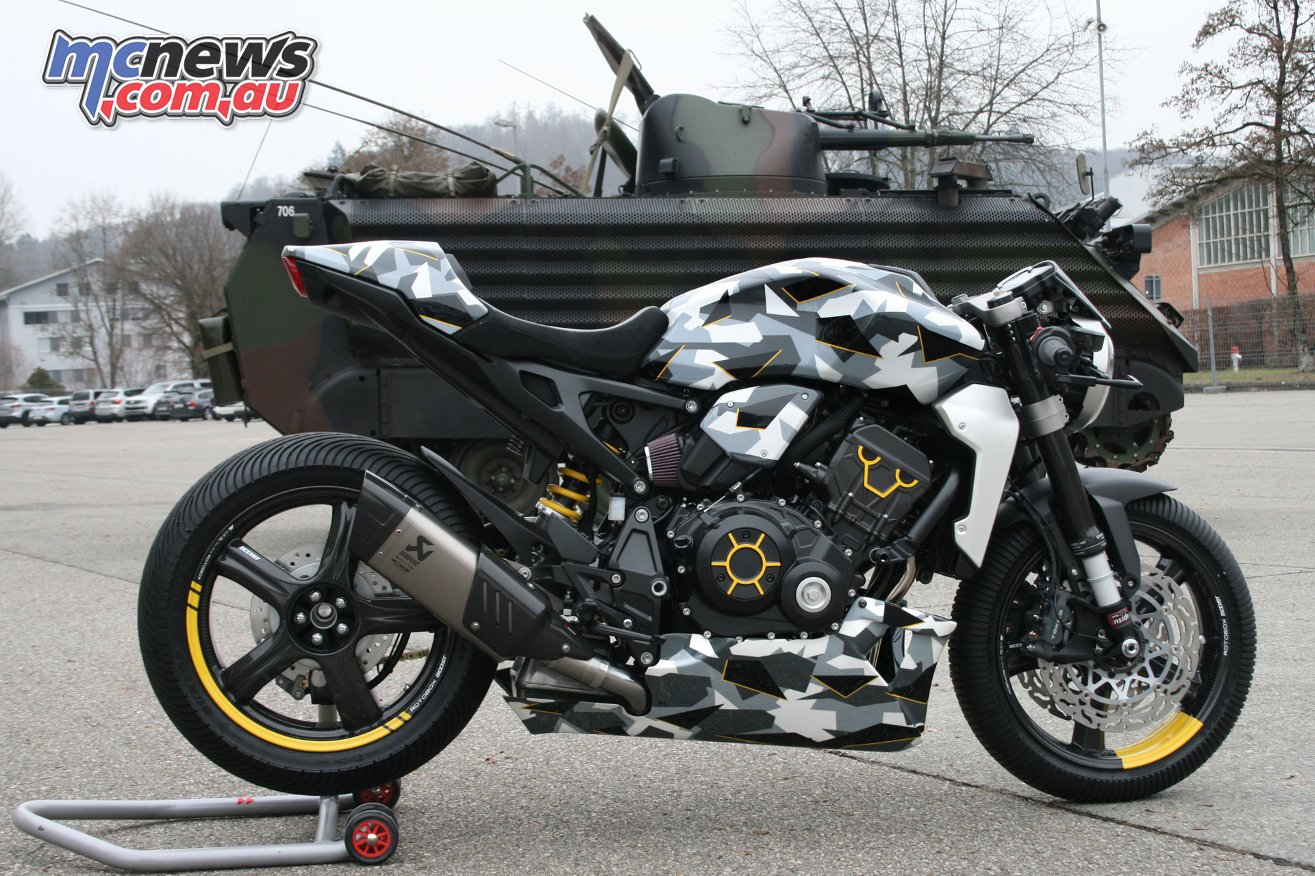Fuhrer Moto Gannet Honda CBR A