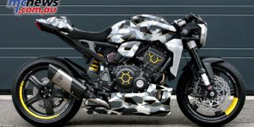 Fuhrer Moto Gannet Honda CBR