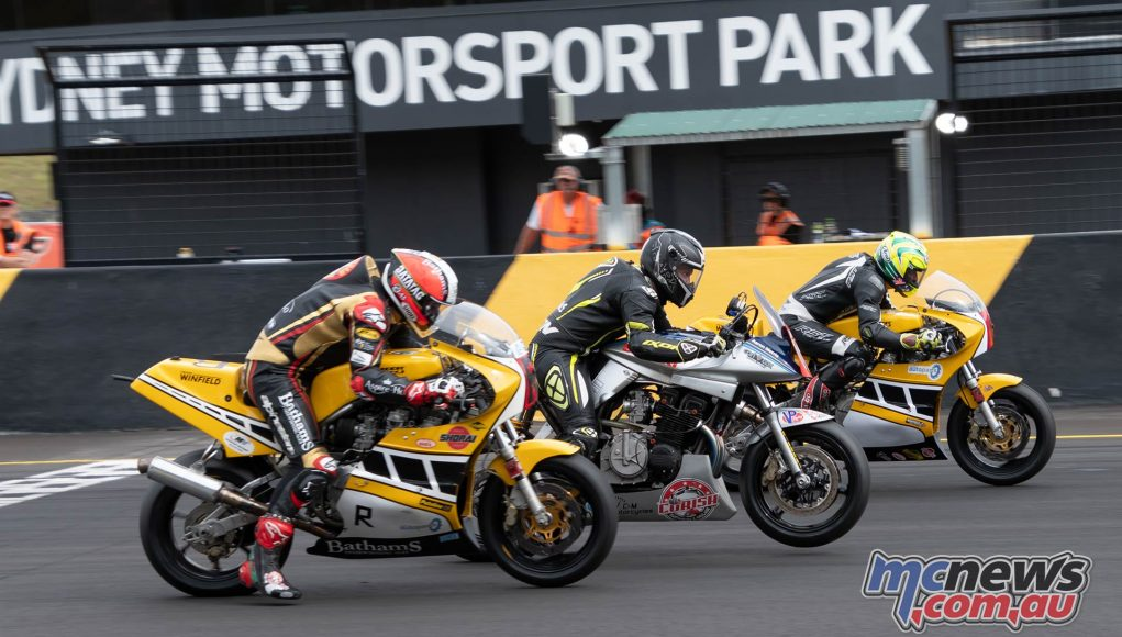 INTERFOS RbMotoLens Michael Rutter Aaron Morris Glen Richards Start